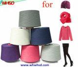 Hilado de lanas de nylon mezclado de la cachemira para hacer punto y tejer