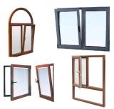 Алюминиевое окно и дверь стороны 2 повиснули окно (pH-8850)