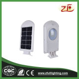 4W luz solar integrada de la pared del alto brillo LED