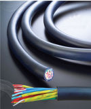 Câble isolé et engainé 1.0mm2 de PVC de cuivre de conducteur de qualité de commande