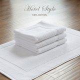 Tovagliolo a terra bianco 100% del Terry del cotone per l'hotel