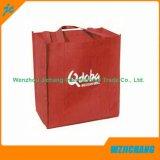 Saco não tecido Recyclable laminado do Tote tela barata relativa à promoção feita sob encomenda