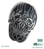 Großhandelsstich-Firmenzeichen-rundes Metallabzeichen für Förderung (XDDT-001)