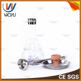 Aluminiumwasser-Rohr-Zubehör-Huka-Holzkohle Shisha