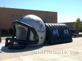 Ballon-Typ aufblasbarer Fußball-Tunnel-aufblasbarer Sturzhelm-Tunnel