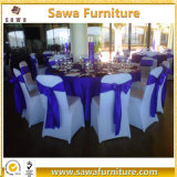 安く豪華な結婚式の白い折るスパンデックスの椅子カバー
