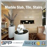 Materiais de construção de pedra naturais de mármore brancos da bancada da parte superior & da cozinha da vaidade de China Carrara