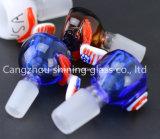 Glaswasser-Rohr-trockenes Kraut rollt Glas-rauchende Zubehör