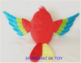 De onderwijs Marionet van de Papegaai van de Pluche van het Stuk speelgoed Kleurrijke