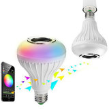 E27 12WスマートなRGB無線Bluetooth LEDの球根ライト