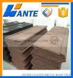 Tipo azulejo de la ripia de material para techos de acero revestido de la piedra
