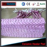 Rilievo di riscaldamento di ceramica flessibile elettrico personalizzato