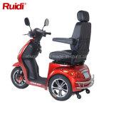 Самокат удобоподвижности индикации LCD электрического самоката 3 колес высокоскоростной