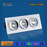 Gitter-Licht des Aluminium-2700-6500k 15W LED für Form-System
