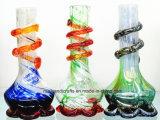 """8 """" coloridos y tubos que fuman vendibles del vidrio suave con la base del loto"""