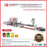 Machines en plastique d'extrudeuse de bagage de couche unitaire de PC de prix bas de Chine