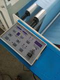 Machine de découpage automatique gravante en relief ultrasonique non tissée avec la fente des couteaux (DC-HW)