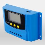 Solardes regler-20A Bildschirmanzeige PWM Controller USB-der Ladung-12V 24V LCD für Batterien