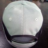 Berretto da baseball verde chiaro in bianco di sguardo piacevole di alta qualità con cotone 100%