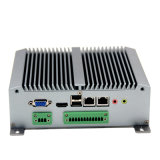 Core I3 5010u Dual LAN Intel sans ventilateur Mini PC RS485 Support WiFi / 3G / 4G