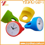 Hot Sell Colorful Lovely Silicone Clock