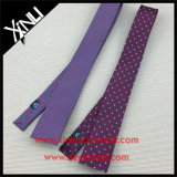 China Factory Atacado Skinny Woven Jacquard Silk Tie