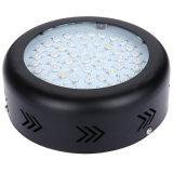 新しいLEDは軽い150W小型UFO LEDのプラントを育てるEU/Usプラグとのダイオードの黒くか白い明るさを出す軽いSananを育てる