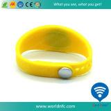 Bracelet fait sur commande de silicones de l'IDENTIFICATION RF Ntag216 imperméable à l'eau