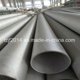 Tubo de acero inoxidable inconsútil Ss304 con alta calidad