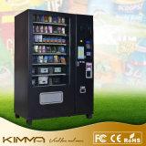Máquina expendedora no frigorificada con la pantalla de visualización del anuncio