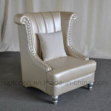 Cadeira elegante do lazer com Upholstery de couro do plutônio para a sala de visitas (SP-HC439)