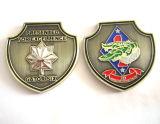 El Pin barato de encargo de la fuente, policía del metal Badge
