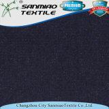 Spandex французское Терри полиэфира связал ткань джинсовой ткани