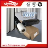 50 polegadas 45GSM Não-Ondulam seco rápido de papel do Sublimation para a impressão de matéria têxtil (a manufatura)