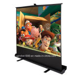 Écran d'Étage-vers le haut, écran portatif de projecteur avec le prix concurrentiel