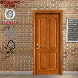 Projeto de madeira de mogno da porta do projeto novo com cinzeladura (GSP2-043)
