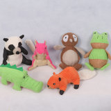 Kundenspezifischer Plüsch-quietschendes Hundespielzeug-Katze-Spielzeug-Haustier-Spielzeug