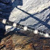 빠른 편집 직경 11.5mm의 37 또는 40bpm로 돌을 파내는 화강암을%s 고무로 처리된 다이아몬드 철사
