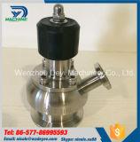 Válvula higiênica da amostra de Aspetic do aço inoxidável