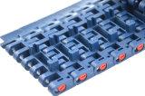 Abgeschrägtes Rand-modulares Plastikförderband ohne Fang-Punkt