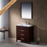 Qualität Fed-1273 48 Inch-Kirsche, die doppelte Wannen-moderne Badezimmer-Eitelkeiten beendet