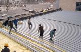 Résistance thermique et matériaux sains de /Roof de couverture laine de verre d'absorption/