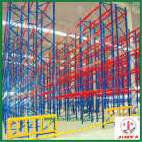 De hoge Ruimte gebruikt, eerste-binnen en laatste-uit het Rek van het Metaal (jt-C07)