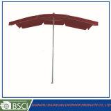 똑바른 직사각형 일요일 우산 사각 옥외 우산 (SY2114)