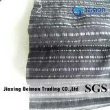 14mm服のための25%絹10%Poly 65%Cottonの縞ファブリック