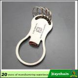 Espaço em branco feito sob encomenda Keychain do metal dos presentes relativos à promoção