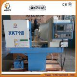 Mini fresadora del CNC del modelo Xk7118