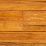 Suelo de bambú tejido hilo sólido de interior del corrimiento del francés de Uniclic