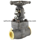Aço inoxidável forjado parafusado ou válvula de globo do interruptor