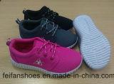 Chaussures occasionnelles de sport de chaussures de toile d'injection d'enfants